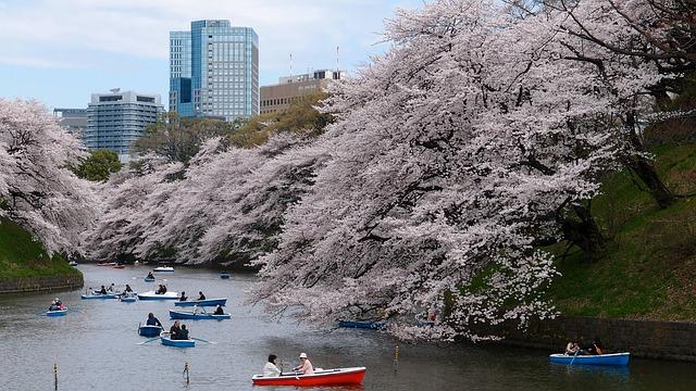 lodičky v Tokiu