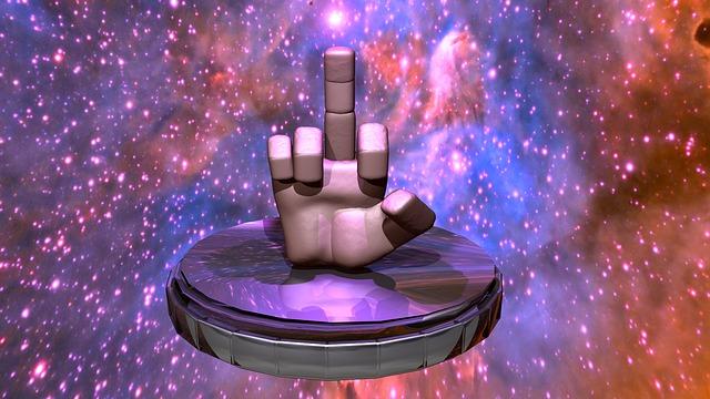 gesto prsty
