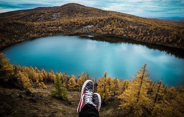vyhlídka na jezero