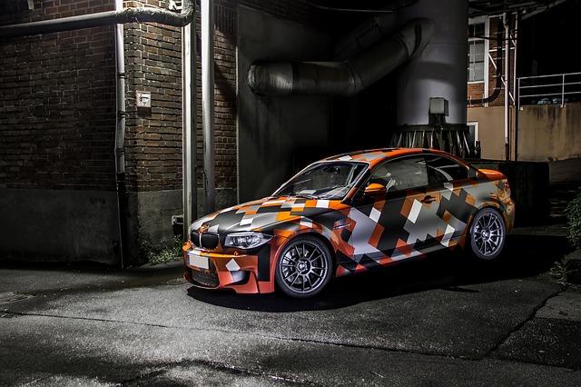 barevné BMW