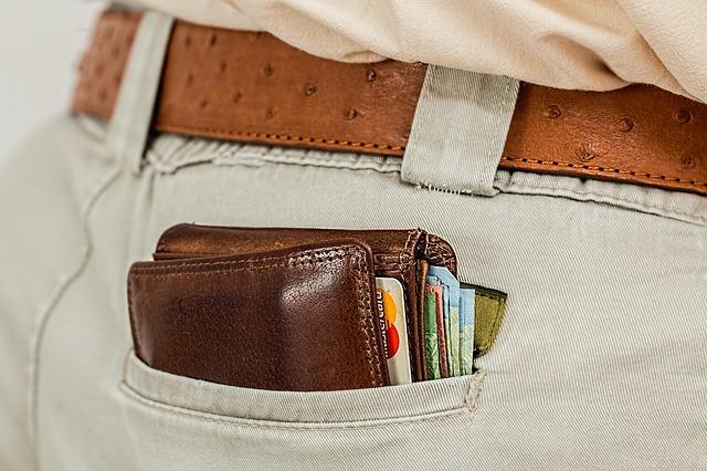 penženka v kapse