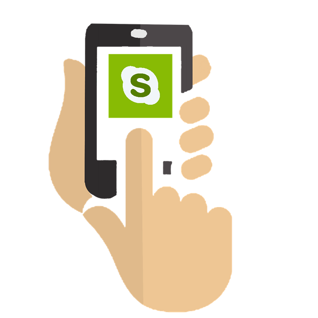 skype ve Smartphonu