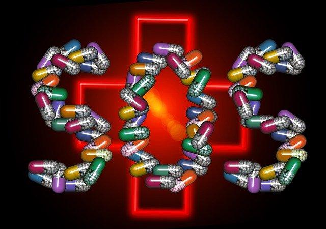 SOS z pilulek