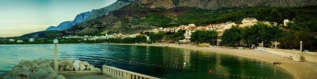 pobřeží Chorvatska