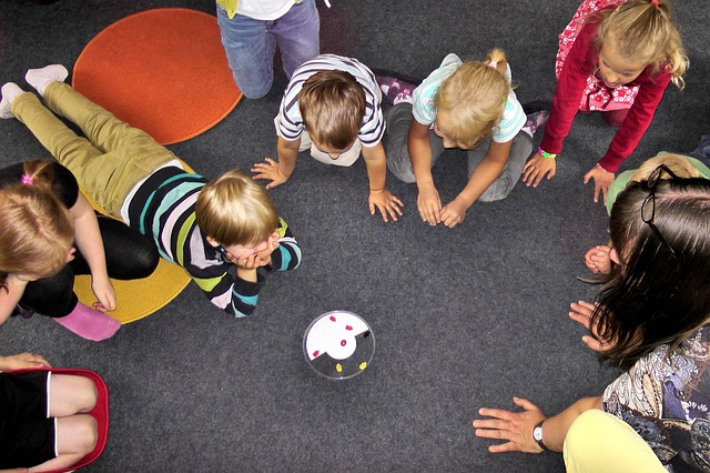 společné hraní ve školce