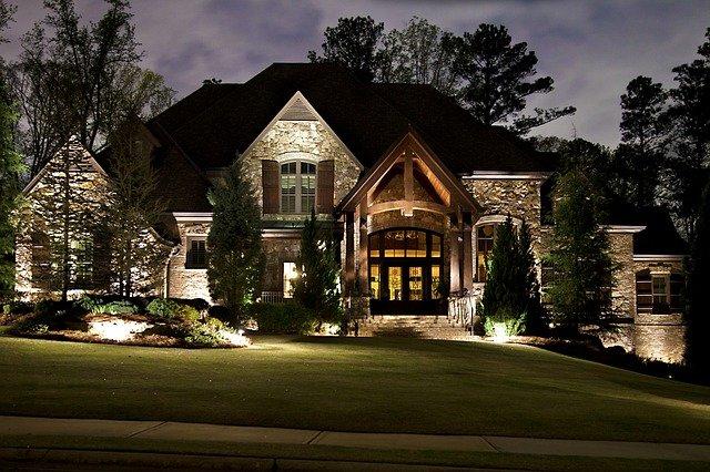 osvětlení domu