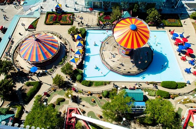 velký zábavní park