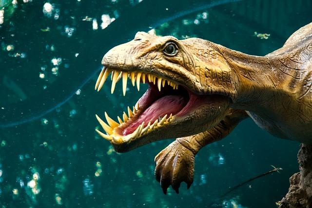 socha dinosaura