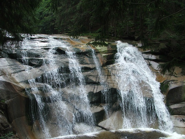 mumlava vodopád