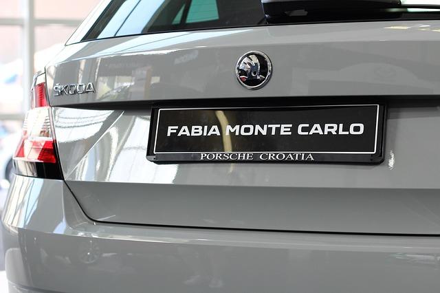 Záď Fabia 3. generace