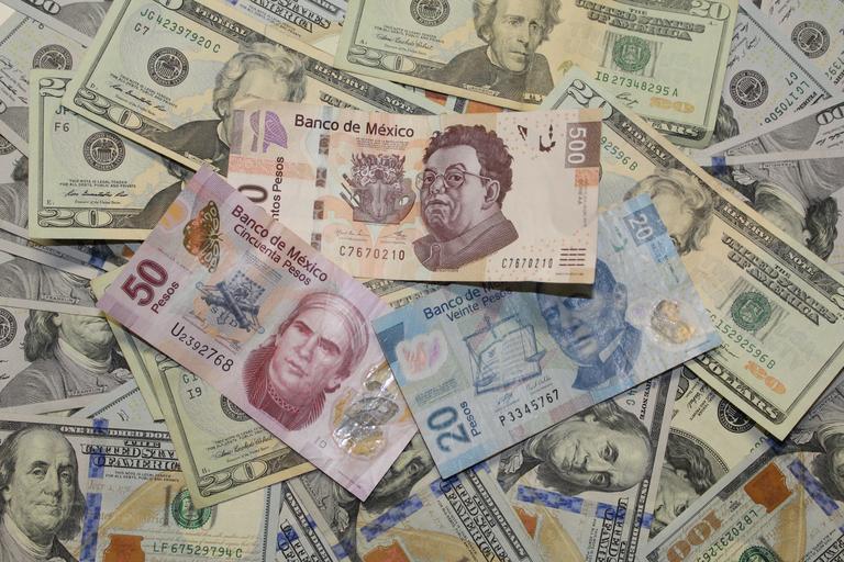 směs cizích měn