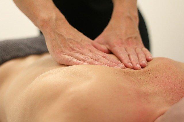 masáž výřez