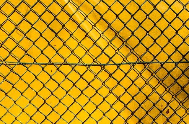 drátěný plot